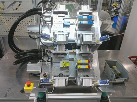 Assembly devices, production lines, PY